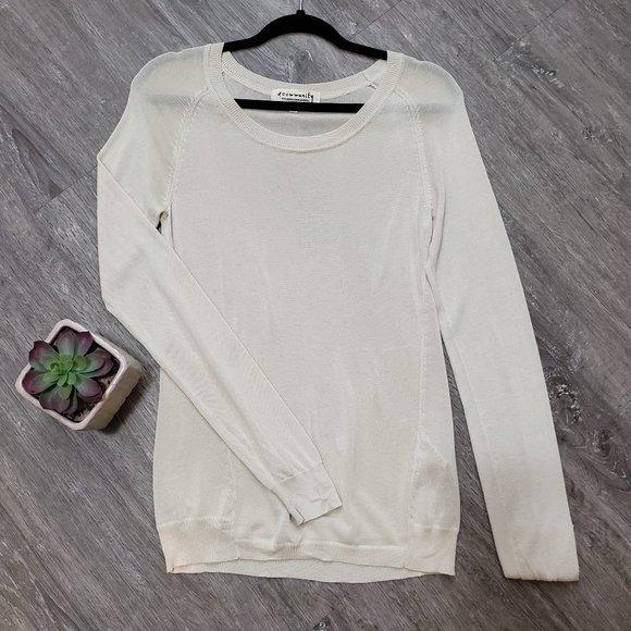 Aritzia Community Bamboo Rayon Sweater Sz M